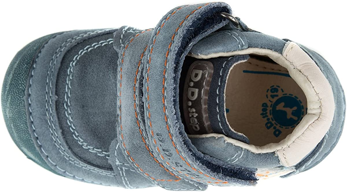 D D Step Toddler Boys Genuine Leather Boots