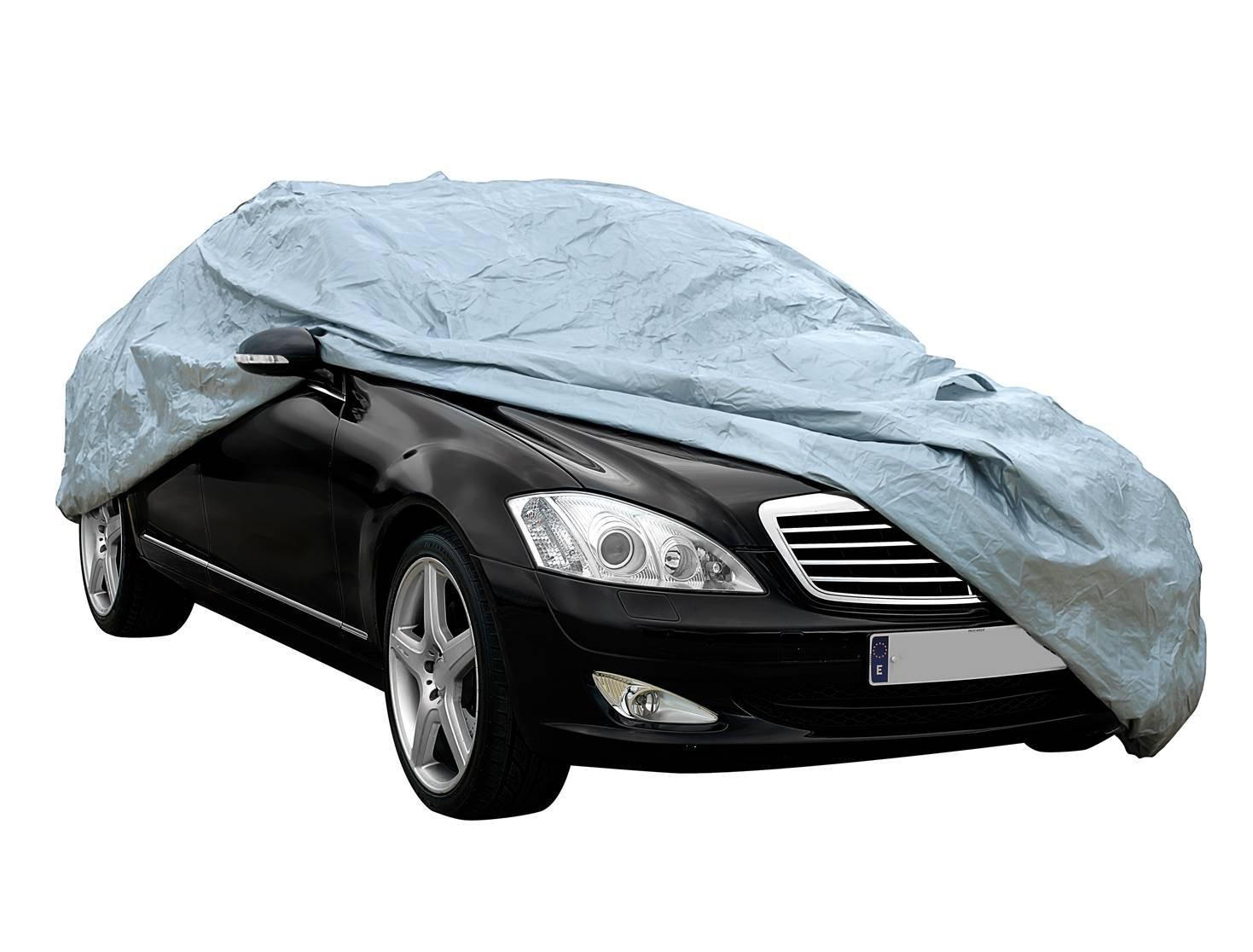 Cover+ Funda exterior premium para Kia SPORTAGE DE 2010, impermeable, doble capa sinté tica y de finas trazas de algodó n por el interior, transpirable para evitar la condensació n en el parabrisas. Sumex