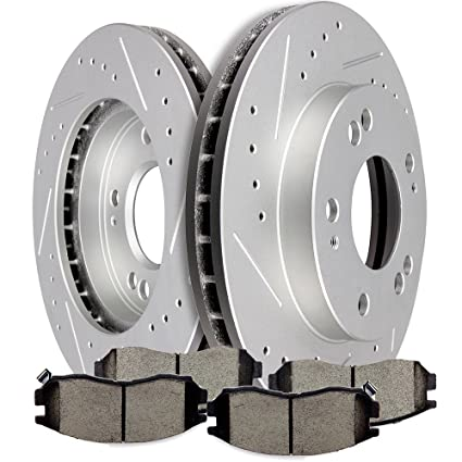 Brakes And Rotors >> Amazon Com Ocpty Brakes And Rotors Set With 2 Brake Disc