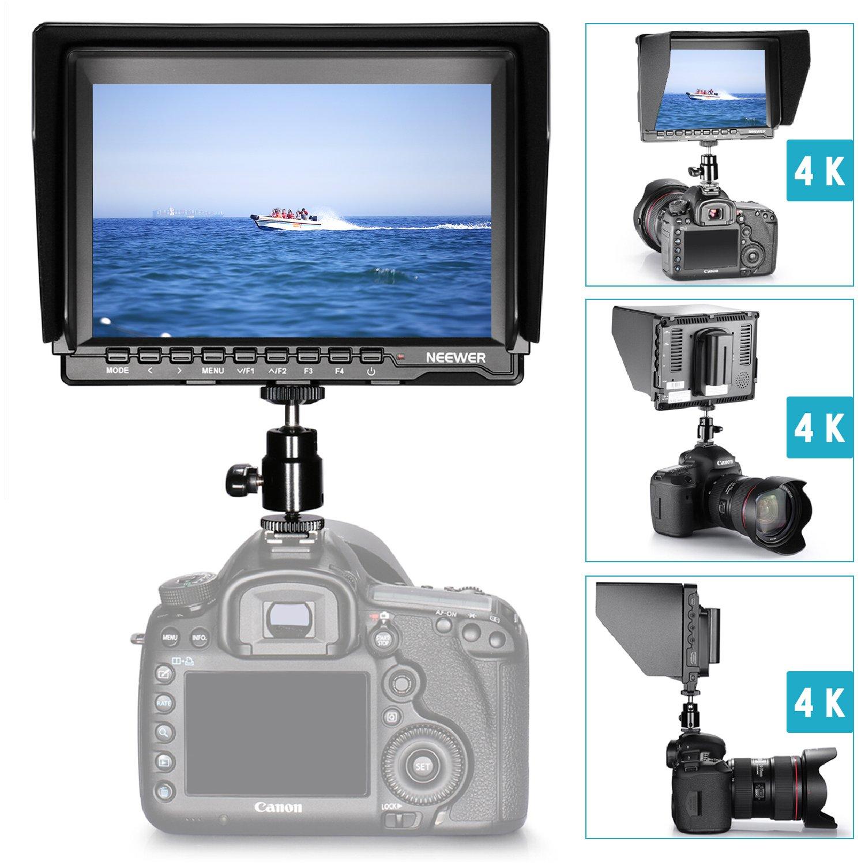 Neewer NW74K 7 Inches Ultra HD 4K 1280x800 IPS Screen Camera Field ...