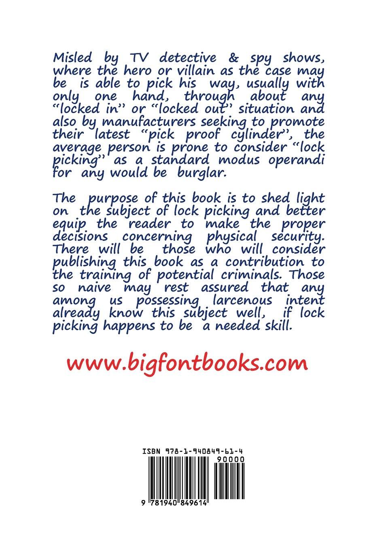 Improvised lock picks formerly titled police guide to lock improvised lock picks formerly titled police guide to lock picking andras m nagy 9781940849614 amazon books fandeluxe Choice Image