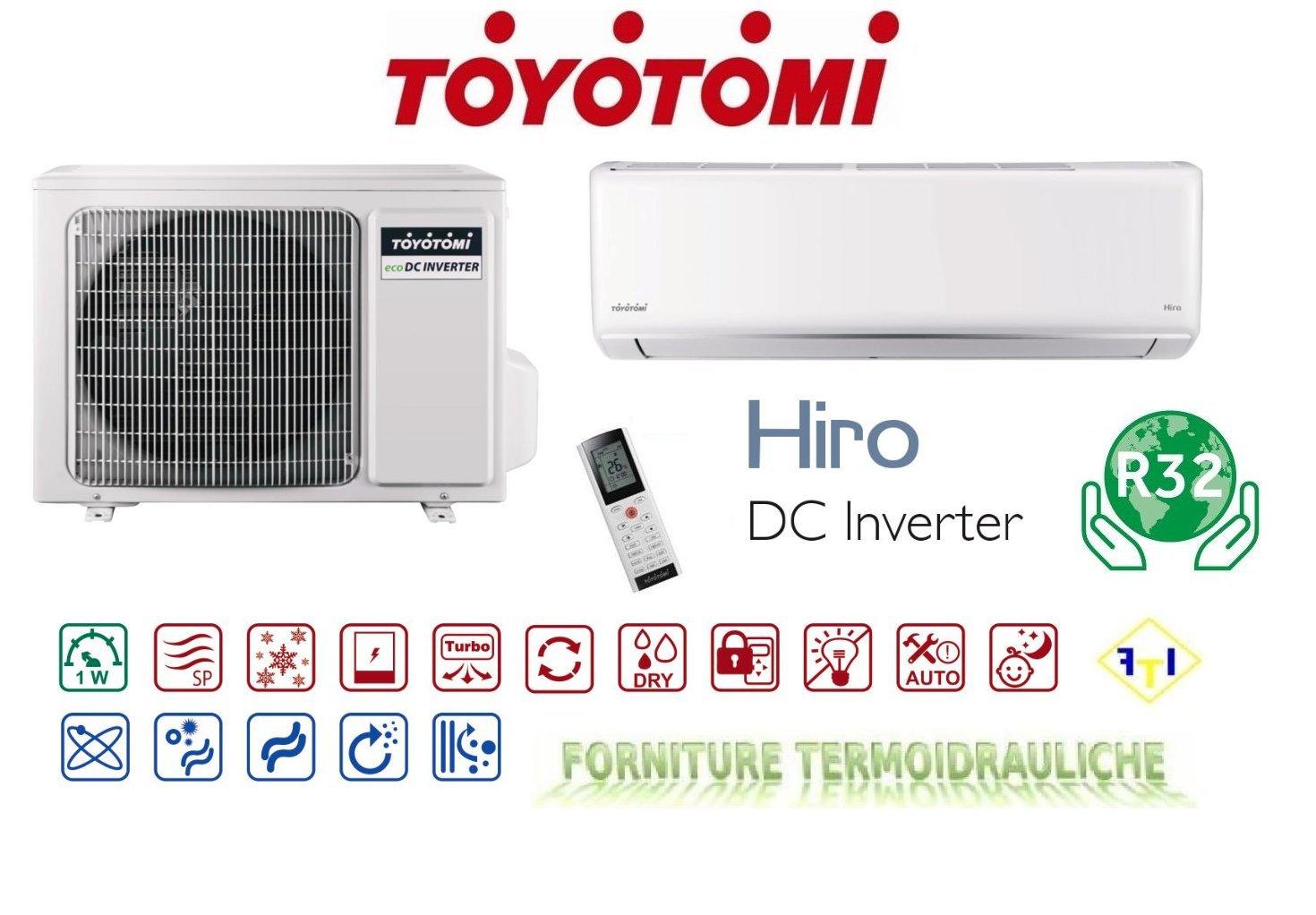 Climatiseur/Climatisation Inverter 9000btu Toyotomi série Hiro–htn-htg 09iv