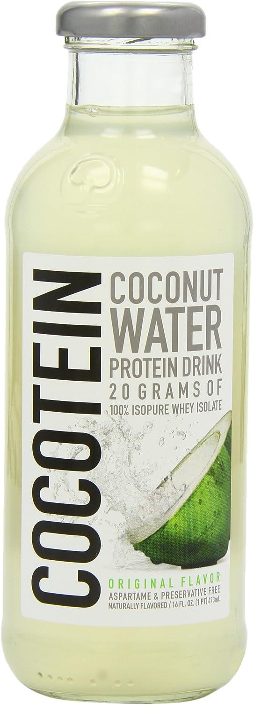 Isopure Cocotein Coconut Water 473ml: Amazon.es: Salud y ...