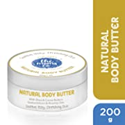 Body Butter The Moms Co. Natural Body Butter-Dermatologist Tested - Australia-Certified Toxin-Free Butter For Dry Skin And Stretch Marks With Shea And Cocoa Butter (7 oz.) - Clinically Proven Formula