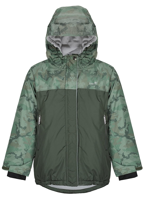 Therm Snowrider Boys Ski Jacket – Waterproof Insulated Boys Winter Coat