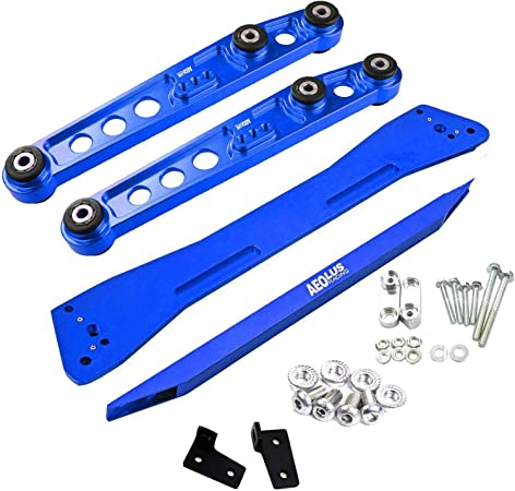 Blue Rear Lower Control Arm Subframe Brace Kit For 1994-2001 Acura Integra DC2