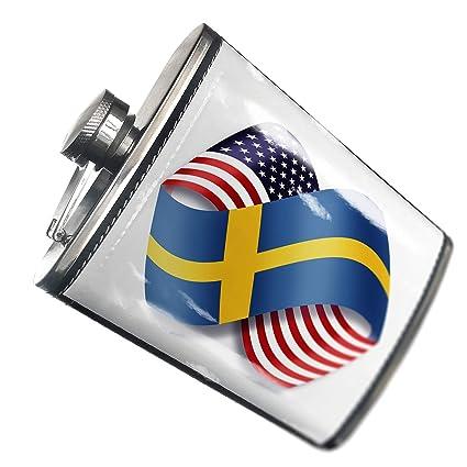 Llavero infinity banderas Usa y sueca - Neonblond: Amazon.es ...