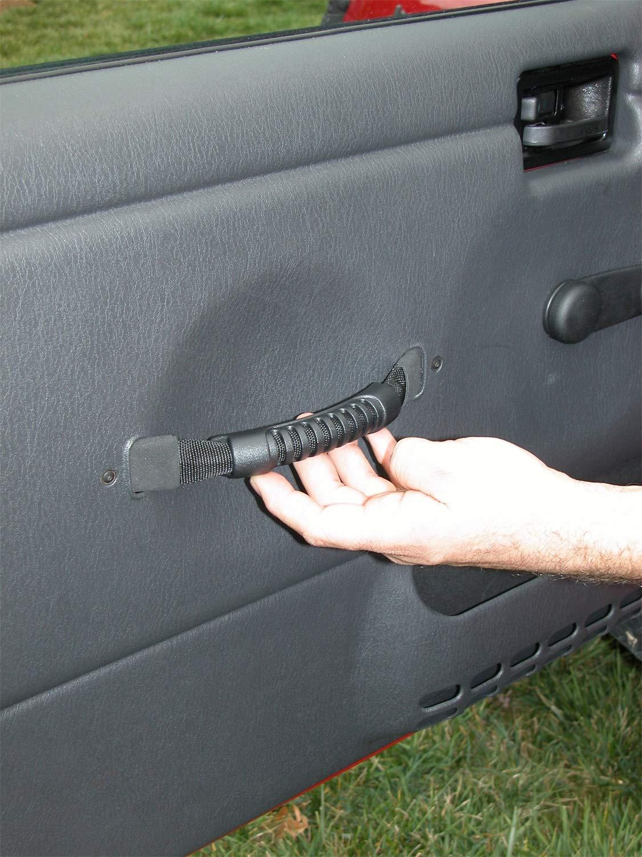 Amazon.com: Rugged Ridge 11826.01 Black Replacement Door Strap/Handle - Pair: Automotive
