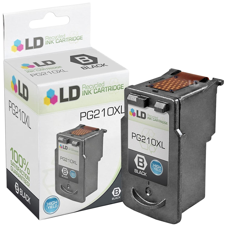 Paquete de 3 cartuchos de tinta remanufacturados Canon PG-210XL ...