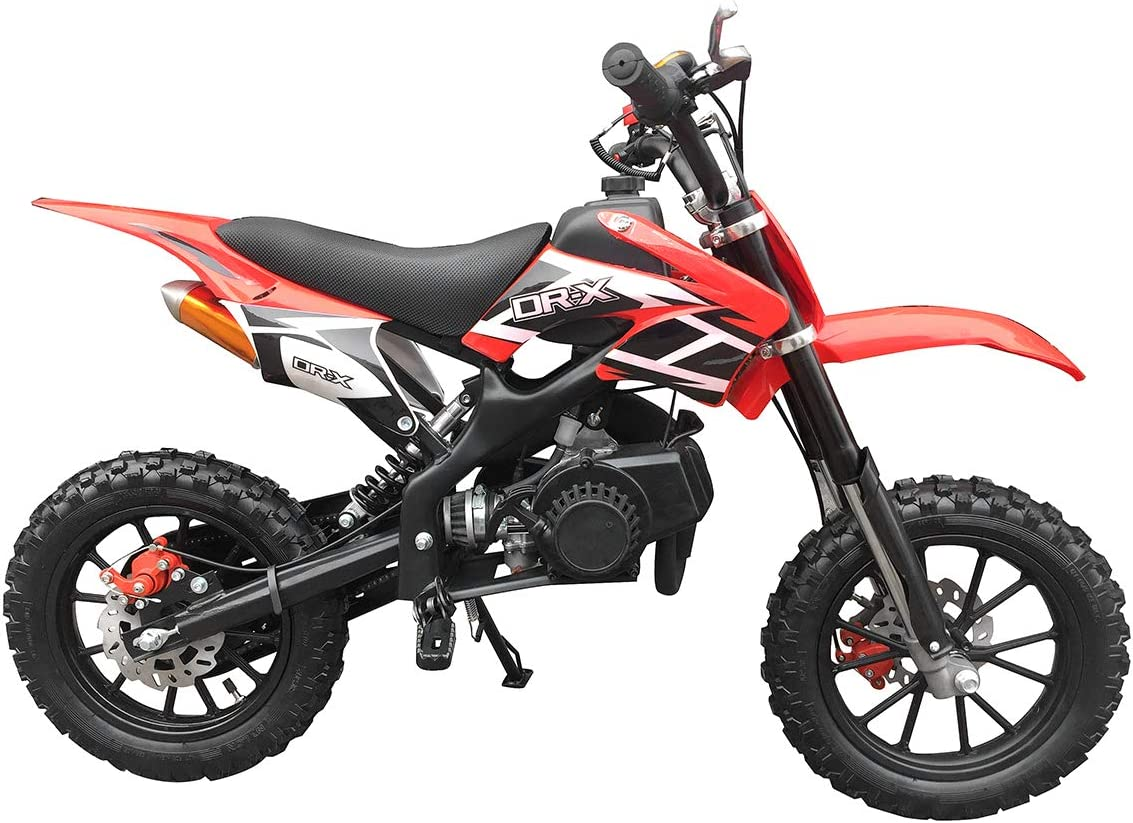 gbmoto 49CC 2-Stroke Gas Power Mini Dirt Bike,Pit Bike Dirt Off Road Motorcycle, Scooter