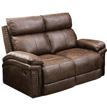 Enjoyable Amazon Com Oris Fur Loveseat Leather Sectional Sofa Cjindustries Chair Design For Home Cjindustriesco