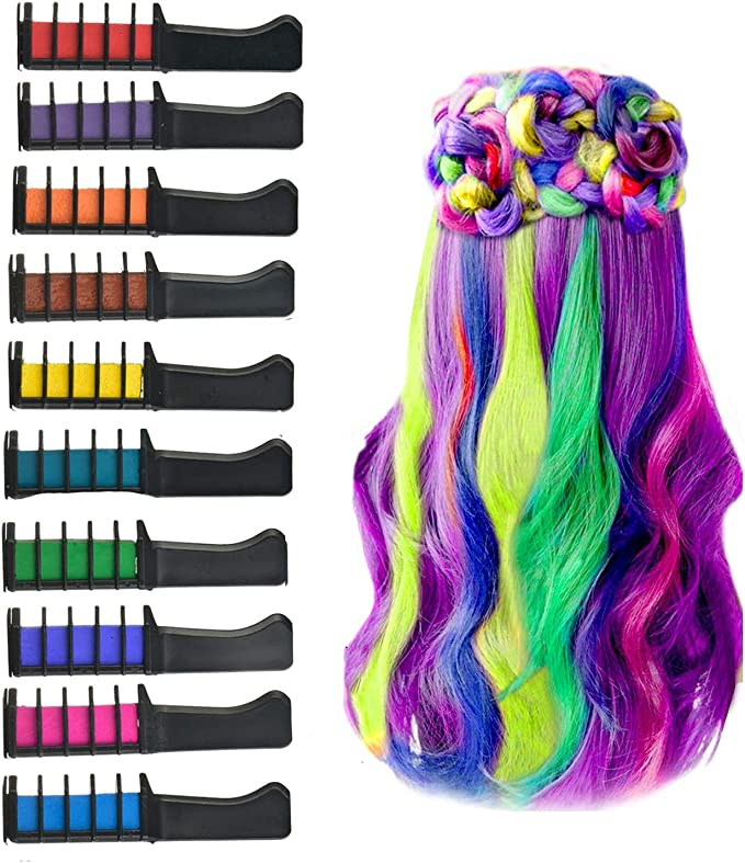 GRJKZYAM 10 Colores Peines De Tiza De Colores para El ...