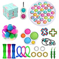 Fidget Toy Set, Cheap Sensory Fidget Toys Pack Figetget Toys Pack Figit Toys (A)