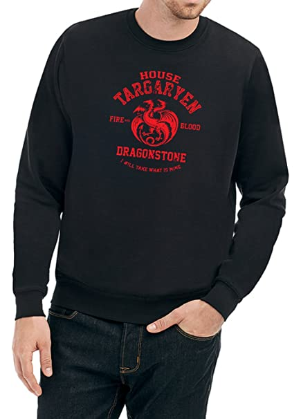 Certified Freak House Targaryen Sweater Negro: Amazon.es ...