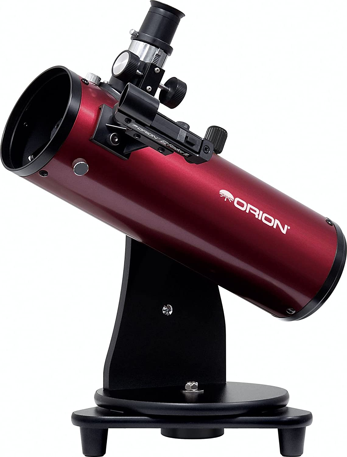 Orion 10012 SkyScanner 100mm TableTop Reflector Telescope (Burgundy) Optronic Technologies Inc