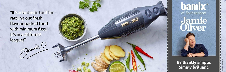 Bamix 102.906 Jamie Oliver - Batidora y procesador de alimentos (plástico): Amazon.es: Hogar