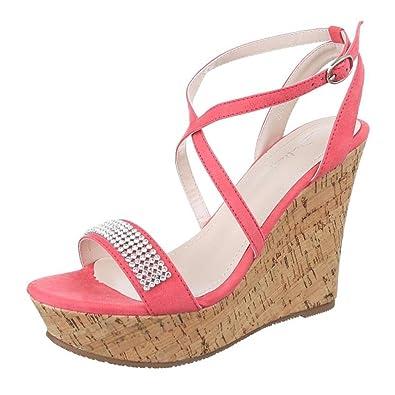 Cingant Woman Damen Sandaletten - Beige Pink, EU 39