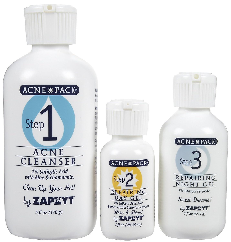 Amazon Com Zapzyt Acne Pack 3 Ct Beauty