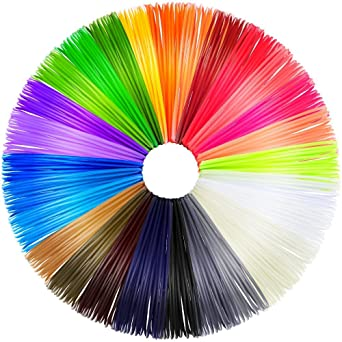 Anpro 28 Colores 3D Filamento ABS para Pluma, 1.75mm 20 Pie ...