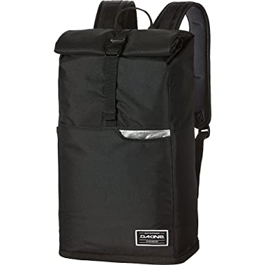 Amazon.com : Dakine Men's Section Roll Top 28L Backpack, Black, OS ...