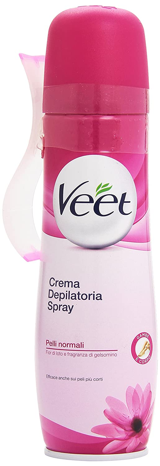 Veet Crema Depilatoria en Spray Piel Sensible - 150 ml Reckitt Benckiser 8063742 depilatorio