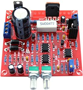 UEB Red 0-30V 2mA-3A Continuously Adjustable DC Regulated Power Supply DIY Kit Short Circuit Current Limiting Protection