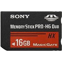 Sony MSHX16B/MN Tarjeta de memoria PRO-HG Duo (MS Pro-HG Duo), negro, resistente al polvo, resistente al agua, 2.7, 3.3, 3.6, 12.50, 0.89