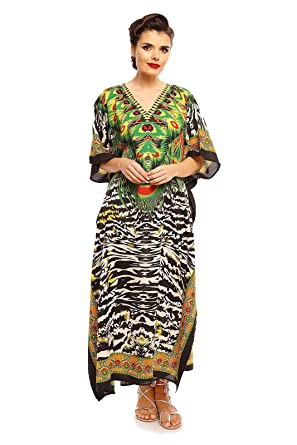 e3467e2966 Looking Glam New Ladies Oversized Maxi Kimono Kaftan Tunic Kaftan ...