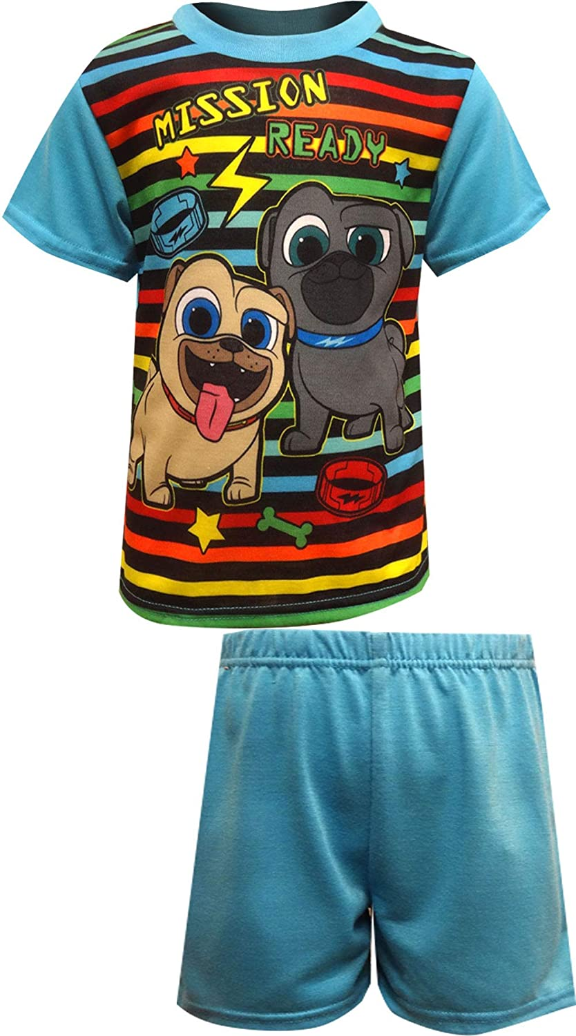 Disney Boys Puppy Dog Pals Woof and Rolly Toddler Pajamas