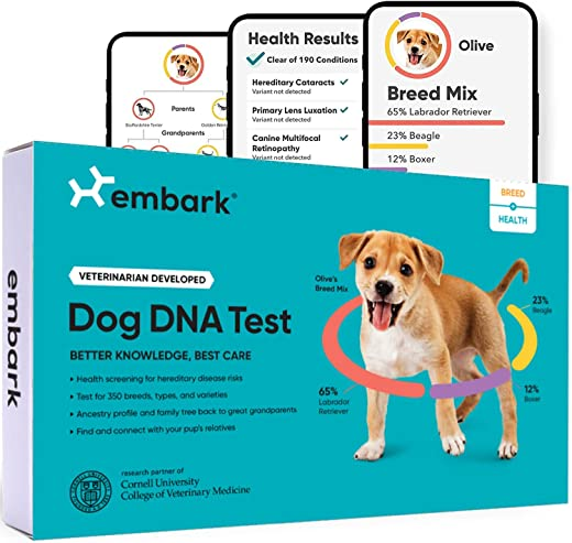 Embark | Dog DNA Test | Breed & Health Kit...