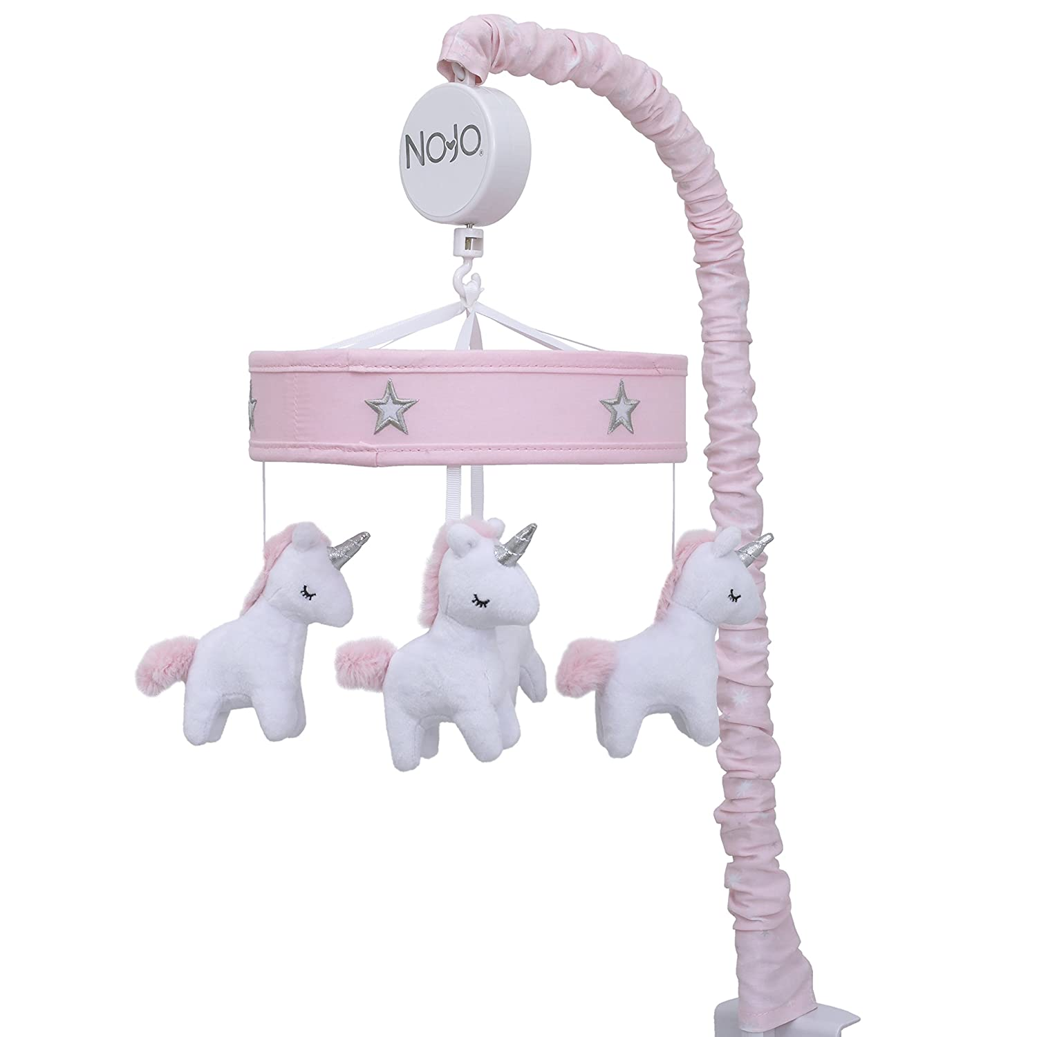NoJo Unicorn Musical Mobile Crown Crafts Inc 4675079