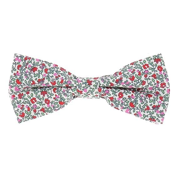 1c6ede453e6de cravateSlim Noeud Papillon Liberty Rose - Noeud Papillon Fleurs ...