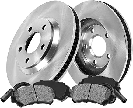 Front And Rear Brake Disc Rotors /& Ceramic Pads For 2004 2005 2006 BMW X5 4.4I