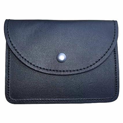 998de6937055 Amazon.com  Scottish Black Leather Belt Pouch Sporran Bag Piper Drummer  (Plain)  Musical Instruments