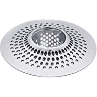 LEKEYE Drain Hair Catcher/Bathtub Shower Drain Hair Trap/Strainer Stainless Steel Drain Protector(Patented Product)