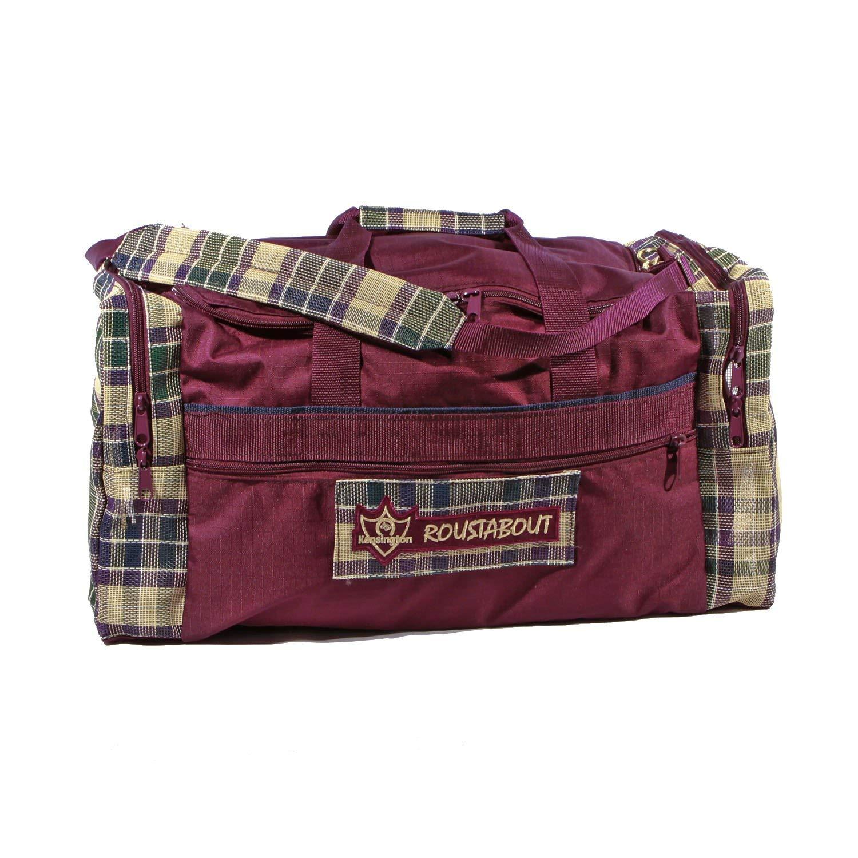 Kensington KPP Roustabout Gear Bags, Deluxe Plum Plaid, Large by Kensington