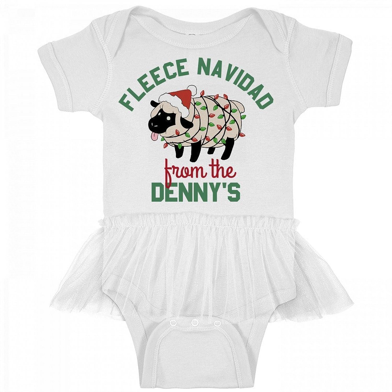 Amazon.com: Denny\'s Fleece Navidad Baby: Infant Rabbit Skins Tutu ...