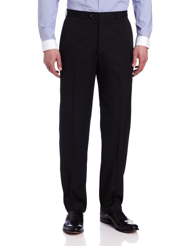 Haggar mens Solid Plain Front Suit Separate Pant Haggar Men's Bottoms HY10222