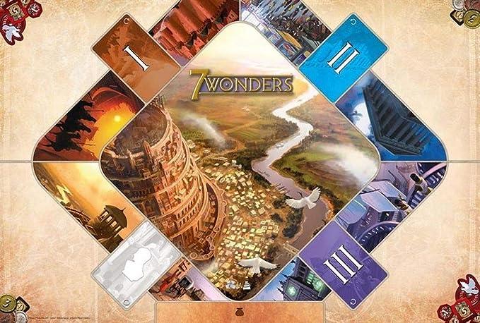 Asmodee - Juego de Mesa - 7 Wonders (Idioma español no garantizado): Amazon.es: Juguetes y juegos