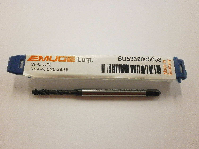 Emuge 4-40 Spiral Flute Multi-Tap 2B//3B High Performance Germany BU5332005003