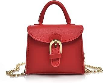 حقيبة يد للبنات ، حقيبة تمر بالجسم تصميم كلاسيكي ، جلد بولي يوريثين من ريتش اند فيومس ، RF-CB-44