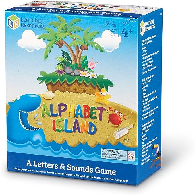 Learning Resources Alphabet Island - Juego de Cartas de ...