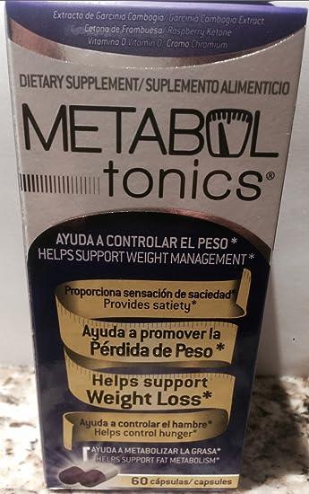 Metabol Tonics Weight Loss 60 Caps