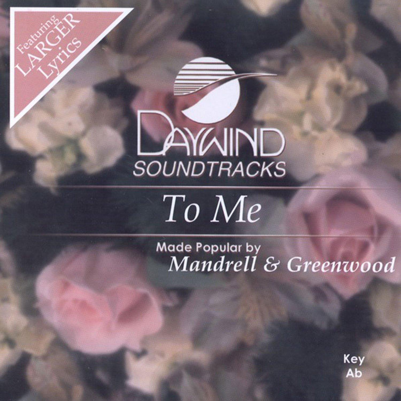 To Me [Accompaniment/Performance Track] (Daywind Soundtracks Wedding) pdf epub