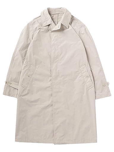 Polyester Nylon Bal Collar Coat 1125-133-6637: Light Grey