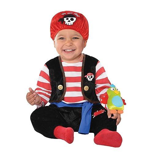 Pirate Captain Halloween Fancy Dress For Babies 6 9 Months Onesie