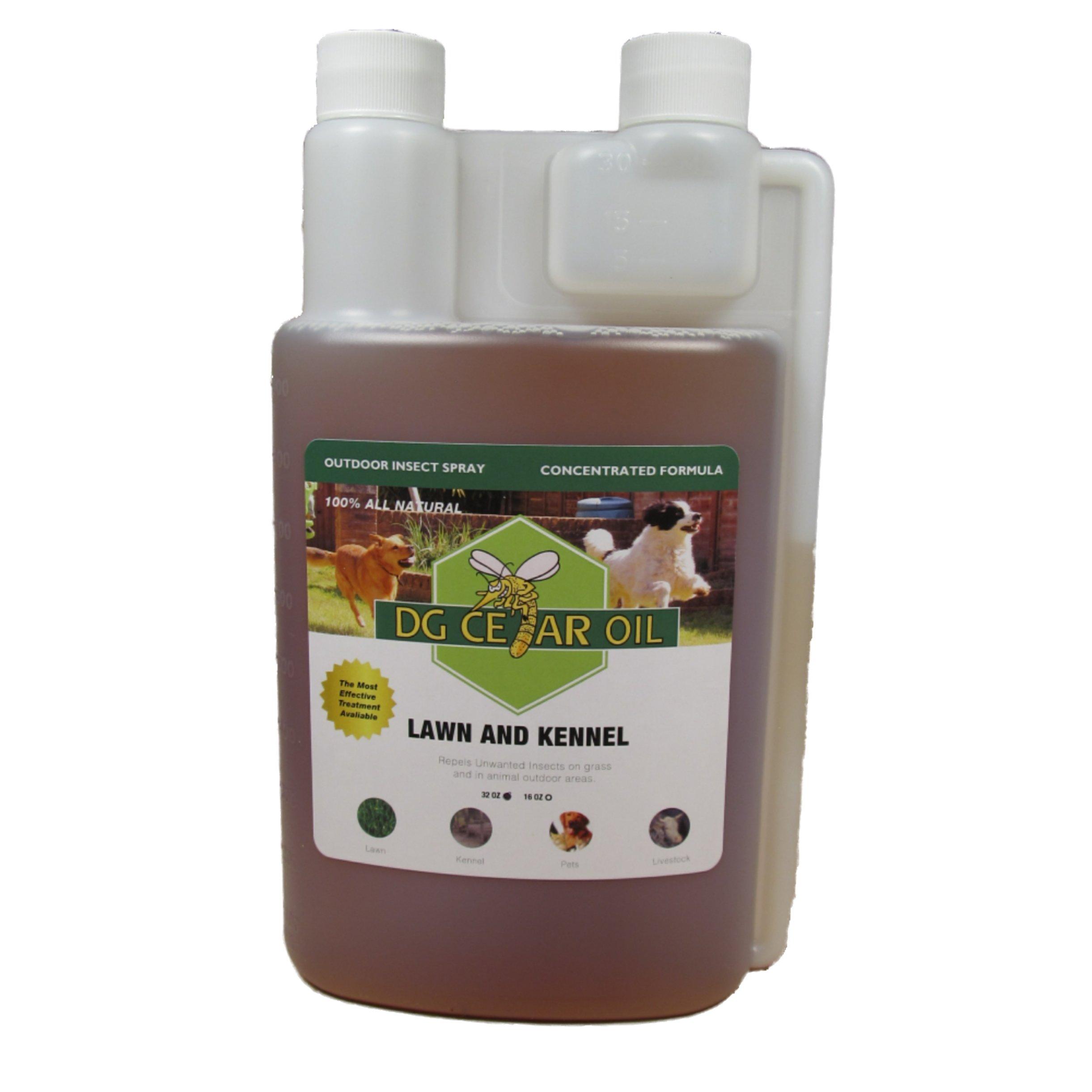 DG Cedar Oil Lawn and Kennel Concentrate Spray (32 oz) by DG Cedar Oil