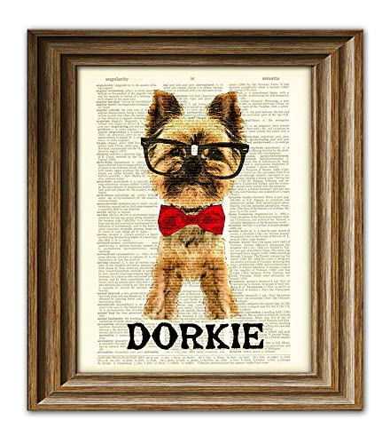 b4e49aaca4ba Amazon.com: This Dorky Yorkie is Dorkie Yorkshire Terrier dog with ...