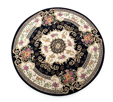 Tremendous Amazon Com Zfgg European Round Carpet Vintage Carpet Short Links Chair Design For Home Short Linksinfo