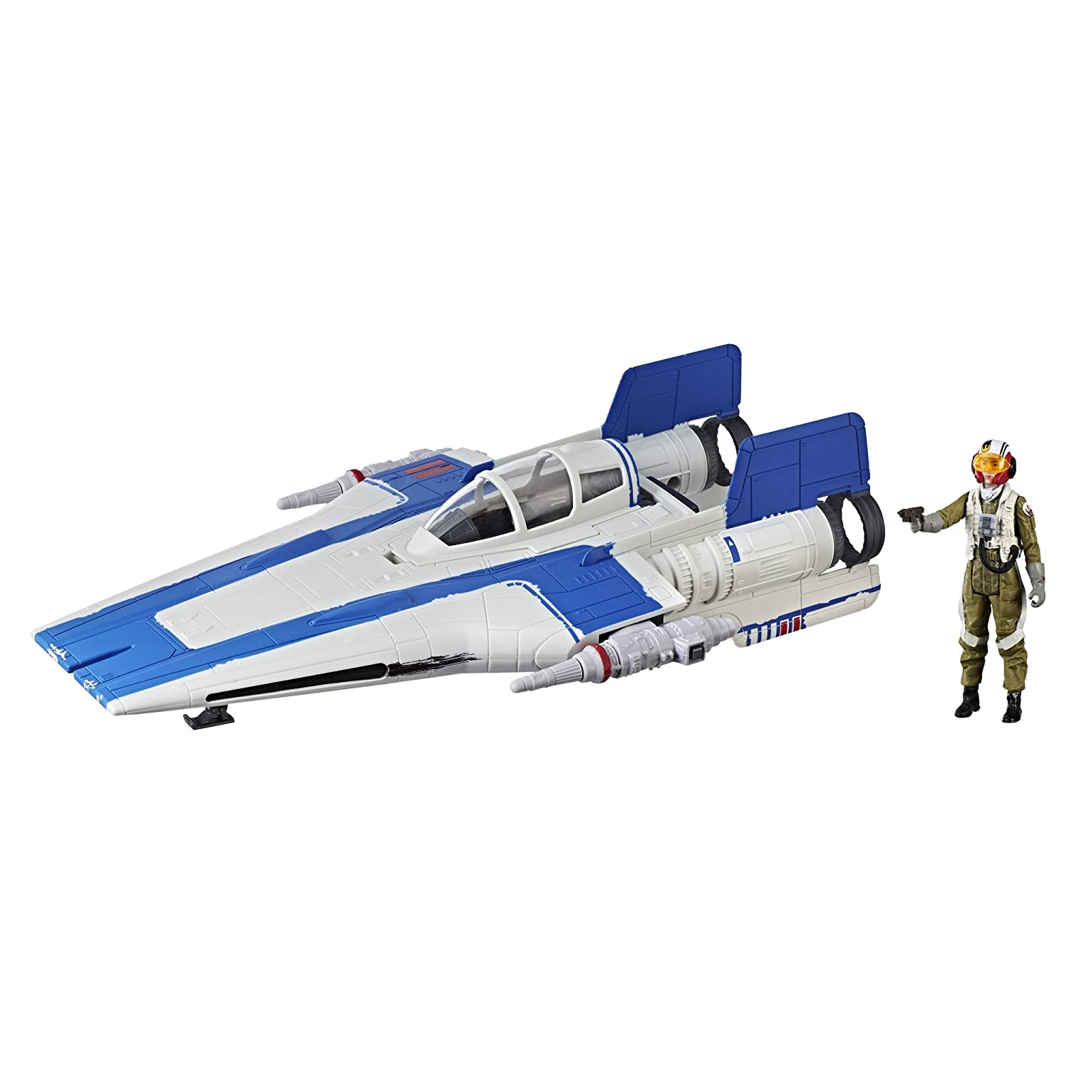 Star Wars Force Link 2.0 Resistance A-wing Fighter and Resistance Pilot Tallie Figure Hasbro E1264